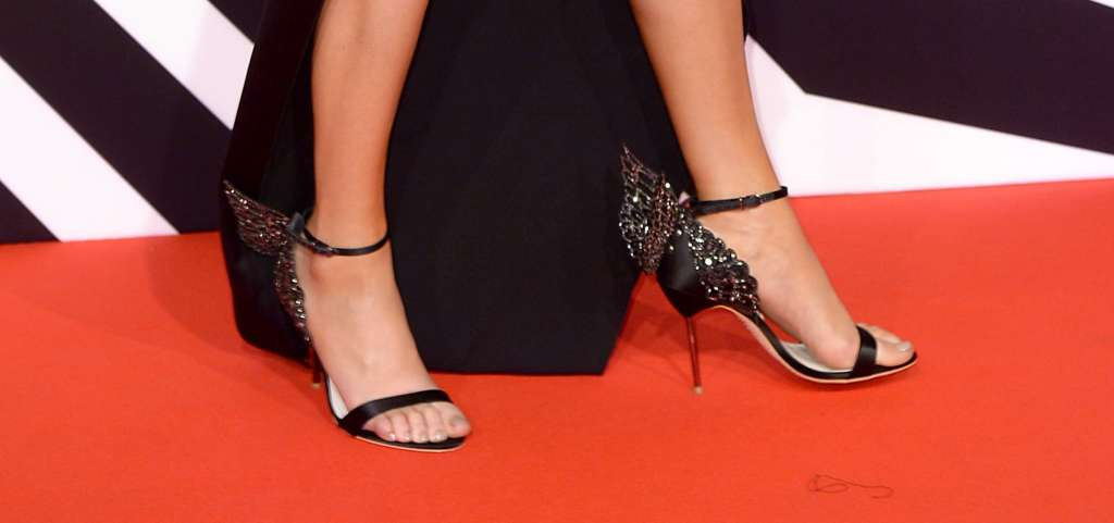 The eye-catching celebrities in high heels at the MTV European Music Awards 2015