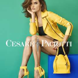 Alessandra Ambrosio rocks as the new face for Cesare Paciotti shoes