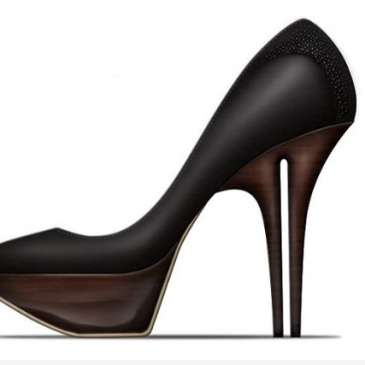 Designer Christopher Dixon creates dual-heeled shoes
