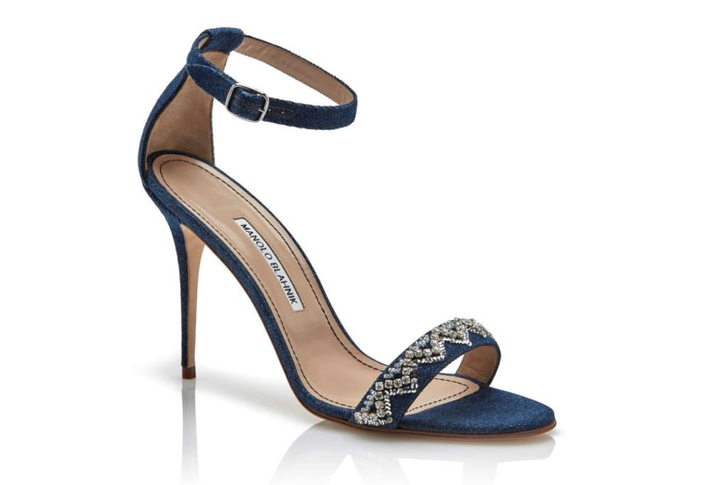 Rihanna unveils her own high heel collection with Manolo Blahnik