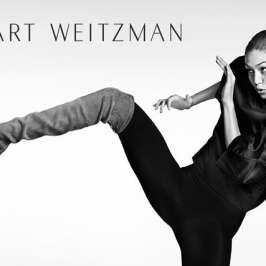 Gigi Hadid kicks in boots for Stuart Weitzman's Fall 2016 campaign
