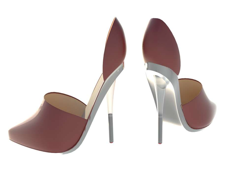 The Stiletto Condom protects high heels from being damaged